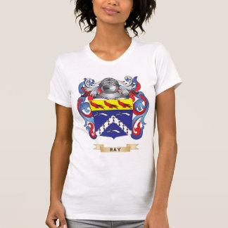 Escudo de armas del rayo (escudo de la familia) camiseta