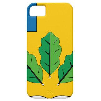 Escudo de armas del rayón de Novoburassky iPhone 5 Case-Mate Cobertura
