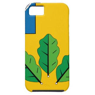 Escudo de armas del rayón de Novoburassky iPhone 5 Funda