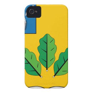 Escudo de armas del rayón de Novoburassky Case-Mate iPhone 4 Cárcasas