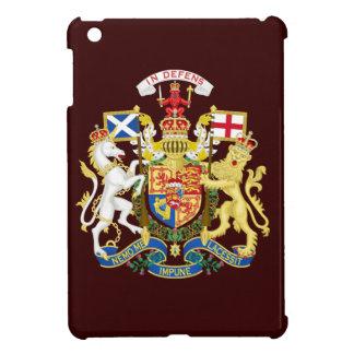 Escudo de armas del Reino Unido en Escocia iPad Mini Cobertura