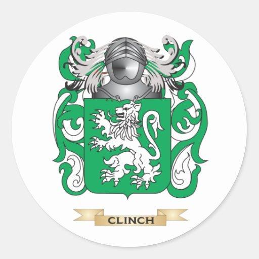 Escudo de armas del remache etiquetas