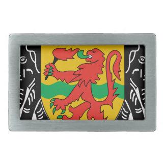 Escudo de armas del República del Congo Hebillas De Cinturón Rectangulares
