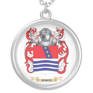 Escudo de armas del Ribes (escudo de la familia) Colgantes Personalizados