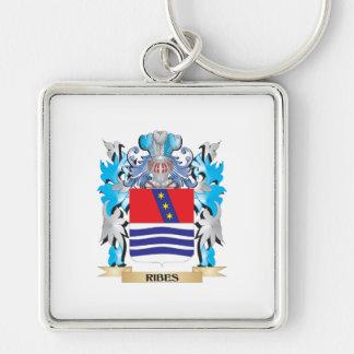 Escudo de armas del Ribes - escudo de la familia Llavero Personalizado
