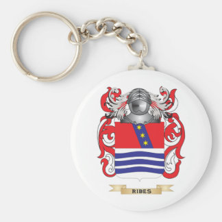 Escudo de armas del Ribes (escudo de la familia) Llavero Personalizado
