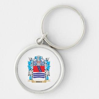 Escudo de armas del Ribes - escudo de la familia Llaveros Personalizados