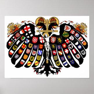 Escudo de armas del Sacro Imperio Romano Póster