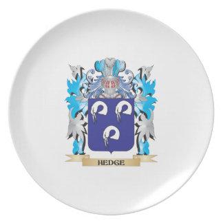 Escudo de armas del seto - escudo de la familia plato