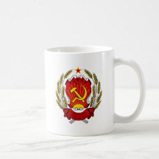 Escudo de armas del SFSR ruso Tazas De Café