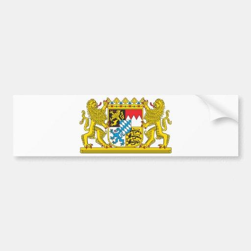 Escudo de armas del símbolo oficial de Alemania de Pegatina Para Auto