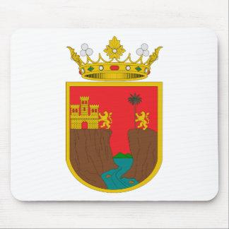 Escudo de armas del símbolo oficial de la heráldic tapete de ratón