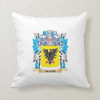Escudo de armas del taladro cojines