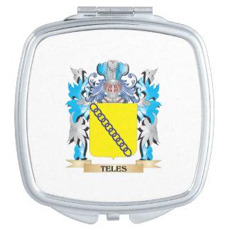 Escudo de armas del Teles - escudo de la familia Espejos Para El Bolso