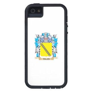 Escudo de armas del Teles - escudo de la familia iPhone 5 Carcasa