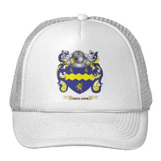 Escudo de armas del tenedor (escudo de la familia) gorros