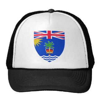 Escudo de armas del territorio del Océano Índico Gorro