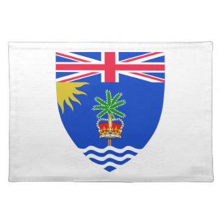 Escudo de armas del territorio del Océano Índico Mantel
