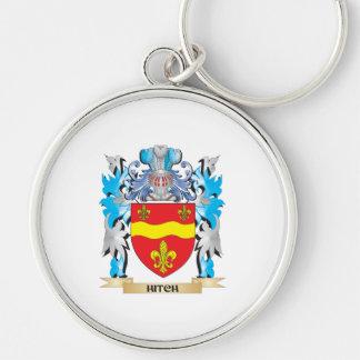 Escudo de armas del tirón - escudo de la familia llaveros