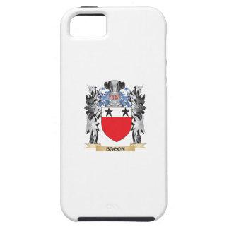 Escudo de armas del tocino - escudo de la familia iPhone 5 funda