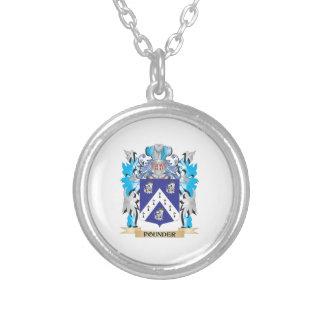 Escudo de armas del triturador - escudo de la colgante personalizado