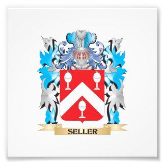 Escudo de armas del vendedor - escudo de la fotografias