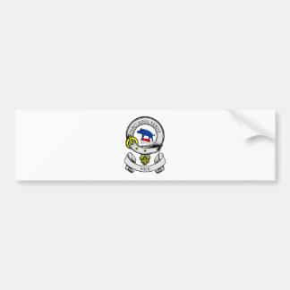 Escudo de armas del VERTEDERO Etiqueta De Parachoque
