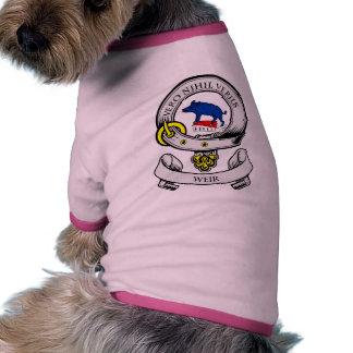 Escudo de armas del VERTEDERO Camisas De Perritos