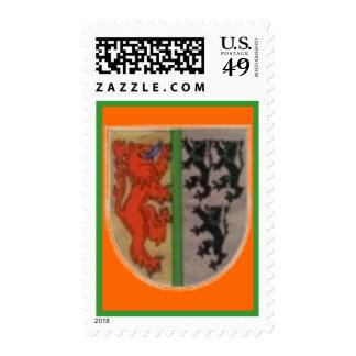 escudo de armas del vintage envio