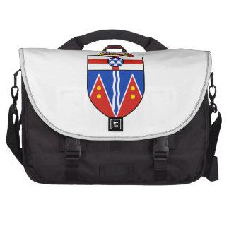 Escudo de armas del Yukón Bolsas Para Portátil