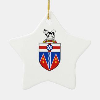 Escudo de armas del Yukón Ornamente De Reyes