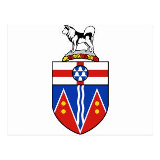 Escudo de armas del Yukón Postal