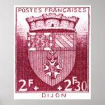 Escudo de armas, Dijon Francia Impresiones