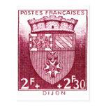 Escudo de armas, Dijon Francia Postal