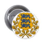 Escudo de armas EE de Estonia Pin