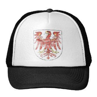Escudo de armas envejecido de Brandeburgo Gorros Bordados