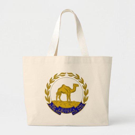 Escudo de armas ER de Eritrea Bolsa De Mano