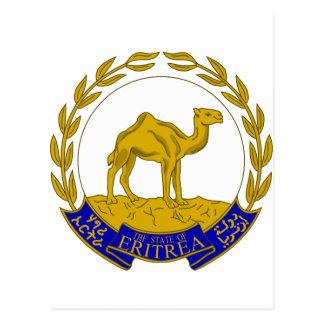 Escudo de armas ER de Eritrea Postal