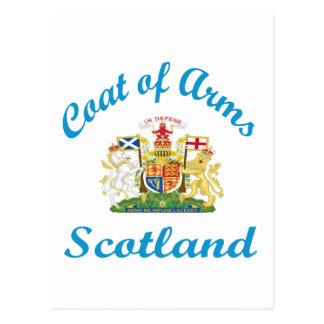 Escudo de armas Escocia Postal