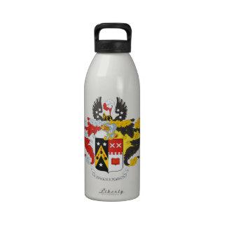 Escudo de armas/escudo de la familia de Andreev Botella De Agua