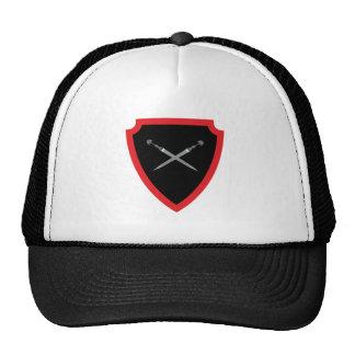 Escudo de armas escudo hatchment gorras de camionero