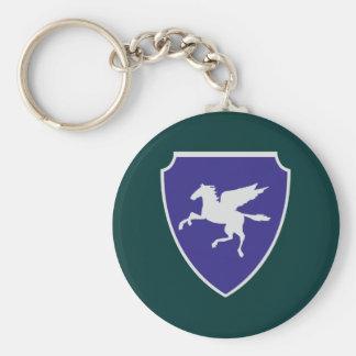 Escudo de armas escudo hatchment llavero redondo tipo pin