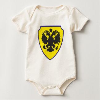 Escudo de armas escudo hatchment traje de bebé