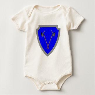 Escudo de armas escudo hatchment trajes de bebé