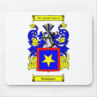 Escudo de armas (español) de Domínguez Alfombrilla De Ratón