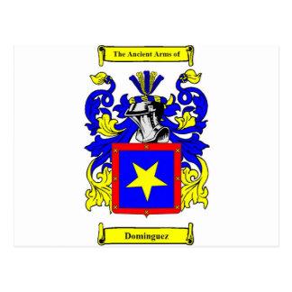 Escudo de armas (español) de Domínguez Postales