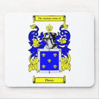 Escudo de armas (español) de Flores Tapetes De Raton