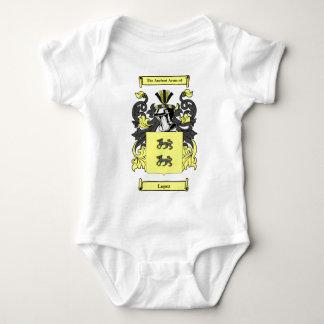 Escudo de armas (español) de López Body Para Bebé