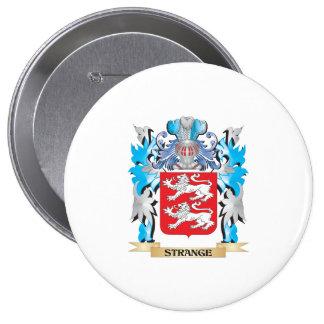 Escudo de armas extraño - escudo de la familia pins
