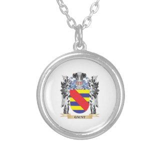 Escudo de armas flaco - escudo de la familia colgante redondo